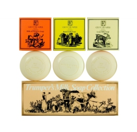 Geo F. Trumper Milk Soap Collection, mýdla 3 x 75 g