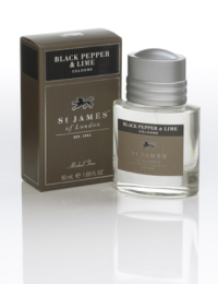 St James of London Black Pepper & Lime, kolínská 50 ml