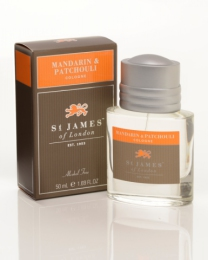 St James of London Mandarin & Patchouli, kolínská 50 ml