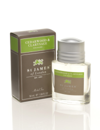 St James of London Cedarwood & Clarysage, kolínská 50 ml