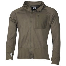 Triko TACTICAL TERMOFLEECE ZELENÉ
