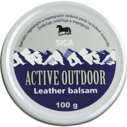 Impregnace vosk ACTIVE OUTDOOR Leather balsam 75ml