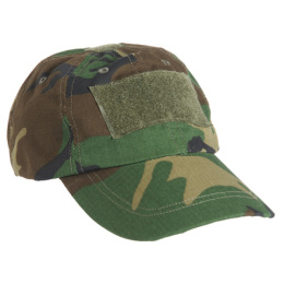 Čepice TACTICAL rip-stop BASEBALL WOODLAND