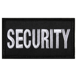 Nášivka SECURITY velcro 4,5 x 8,5 cm