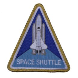Nášivka NASA SPACE SHUTTLE velcro