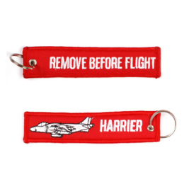 Klíčenka REMOVE BEFORE FLIGHT / HARRIER
