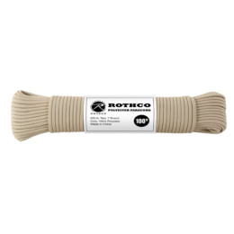 Šňůra PARACORD polyester 550LB 30m 4mm TAN