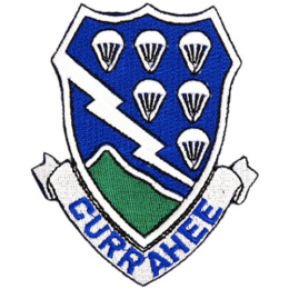 Nášivka CURRAHEE 506th PIR