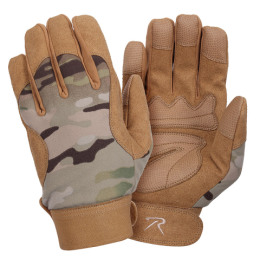 Rukavice MILITARY MECHANICS MULTICAM