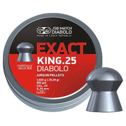 Diabolky JSB EXACT KING 6,35 mm 350 ks