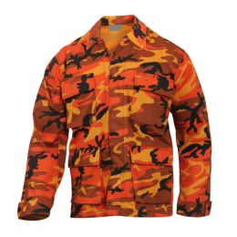 Blůza US typ BDU ORANGE CAMO