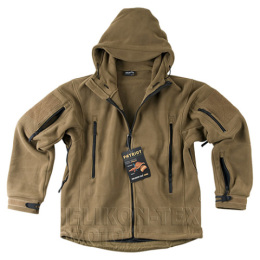 Bunda PATRIOT Heavy fleece COYOTE