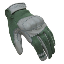 Rukavice nomex Condor HARD KNUCKLE ZELENÉ