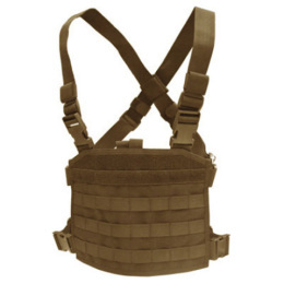 Vesta taktická MOLLE CHEST RIG PANEL TAN